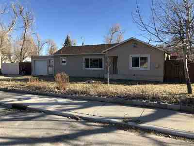 Casper Single Family Home For Sale: 1721 S McKinley