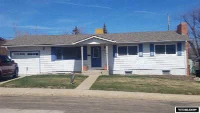 Casper Single Family Home For Sale: 2120 Mariposa