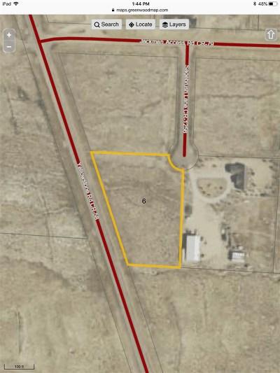 Rock Springs Residential Lots & Land For Sale: 6 Sagebrush Lane