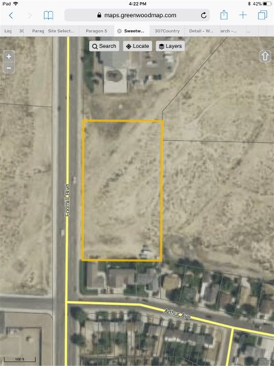 Rock Springs Residential Lots & Land For Sale: Corner Of Foothill
