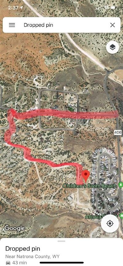 Alcova Residential Lots & Land For Sale: Lakeview