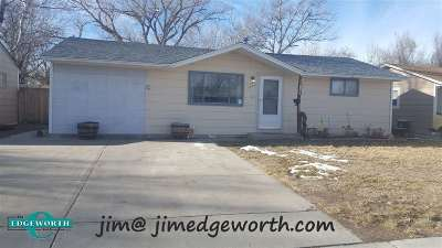 Casper Single Family Home Pending-Continue To Show: 1502 Fremont