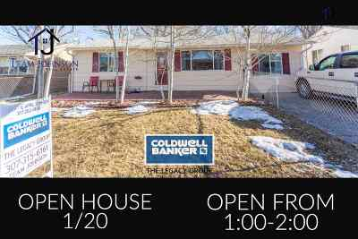 Casper Single Family Home For Sale: 1437 Brigham Young