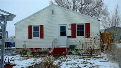 Rock Springs Single Family Home For Sale: 116 Bellview