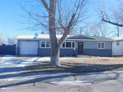 Casper WY Single Family Home For Sale: $169,900