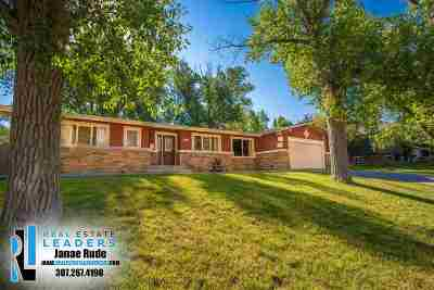 Casper Single Family Home New: 1341 Nottingham