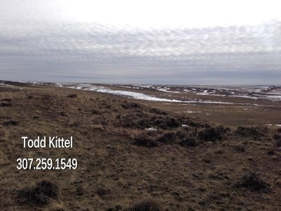 Casper Residential Lots & Land For Sale: 140 Acres Robinett Ranches