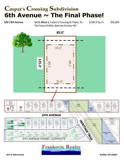 Mills Residential Lots & Land For Sale: 926 6th