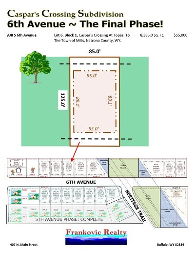Mills Residential Lots & Land For Sale: 936 6th