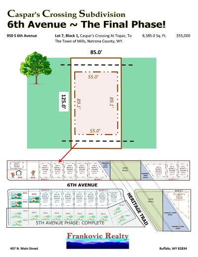 Mills Residential Lots & Land For Sale: 950 6th