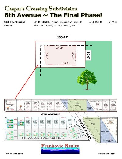 Mills Residential Lots & Land For Sale: 5310 River Crossing