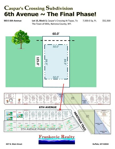 Mills Residential Lots & Land For Sale: 903 6th