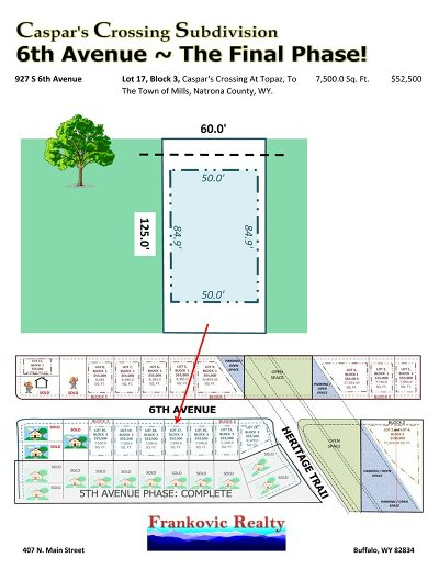 Mills Residential Lots & Land For Sale: 927 6th