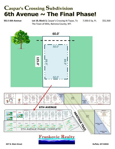 Mills Residential Lots & Land For Sale: 951 6th