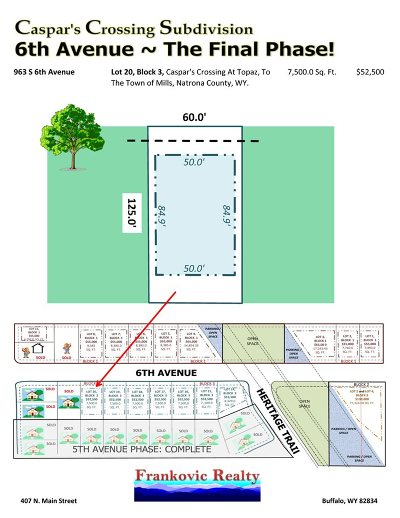 Mills Residential Lots & Land For Sale: 963 6th