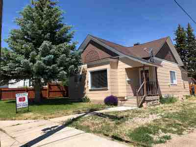 Kemmerer Single Family Home For Sale: 313 Emerald