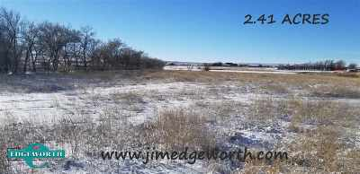 Casper Residential Lots & Land For Sale: S. Portion 10 Horseshoe