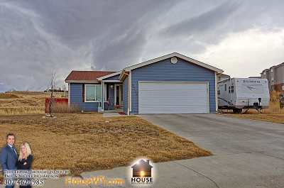 Casper WY Single Family Home For Sale: $194,900