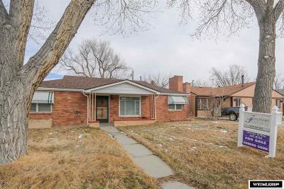 Casper Single Family Home For Sale: 303 N Colorado
