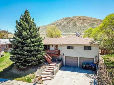 Green River Single Family Home Temporarily Off Market: 1645 Indian Hills