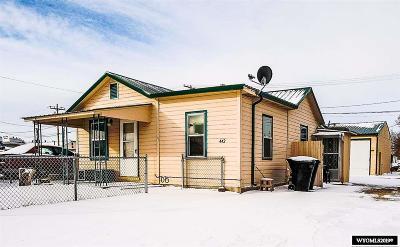 Casper Single Family Home For Sale: 442 N Lennox