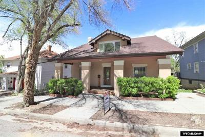 Rock Springs Single Family Home For Sale: 617 B