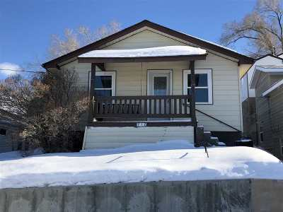 Rock Springs Single Family Home For Sale: 712 Wendt