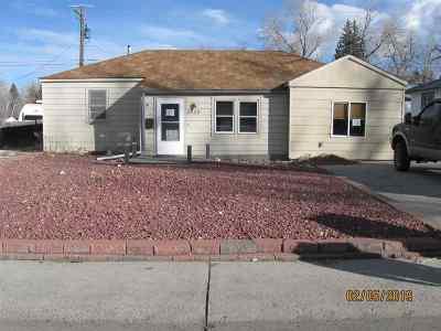 Casper Single Family Home For Sale: 2429 S Coffman