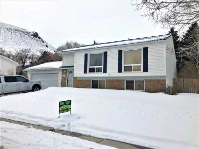 Green River Single Family Home For Sale: 2625 Wisconsin