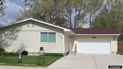Green River Single Family Home For Sale: 2005 Colorado