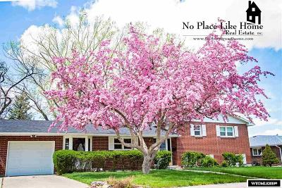 Casper Single Family Home For Sale: 1300 Nottingham