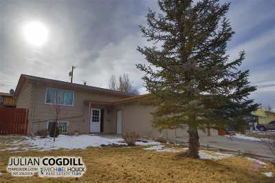 Casper Single Family Home Pending-Continue To Show: 1745 Glendale