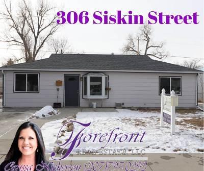 Casper Single Family Home For Sale: 306 Siskin Street
