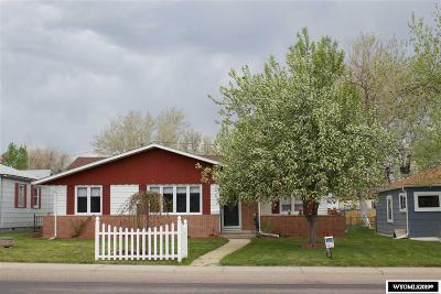 Casper Single Family Home For Sale: 2036 S Poplar
