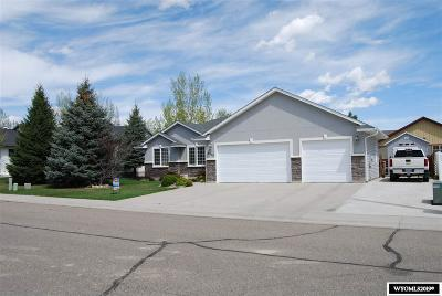 Rock Springs Single Family Home For Sale: 2309 Silver Creek