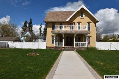 Uinta County Single Family Home For Sale: 324 Center Street