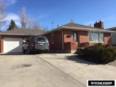 Casper Single Family Home For Sale: 2131 W Coffman