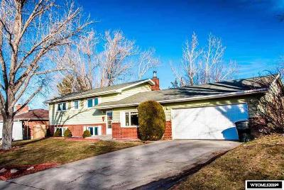 Casper Single Family Home For Sale: 1321 Nottingham
