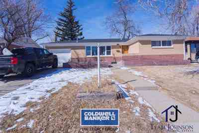 Casper Single Family Home For Sale: 1044 S Missouri
