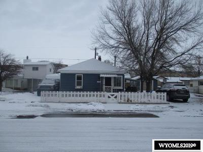 Rock Springs Single Family Home For Sale: 1113 9th