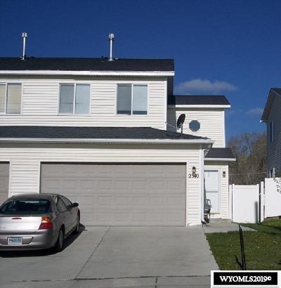 Rock Springs Single Family Home For Sale: 2340 Big Sky Trail