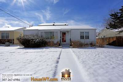 Casper Single Family Home For Sale: 1755 W 15th St.