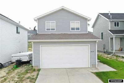 Rock Springs Single Family Home For Sale: 3828 Harrier
