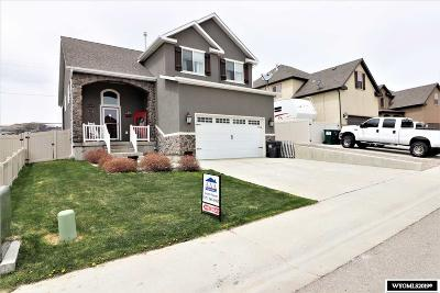 Rock Springs Single Family Home For Sale: 322 Tate