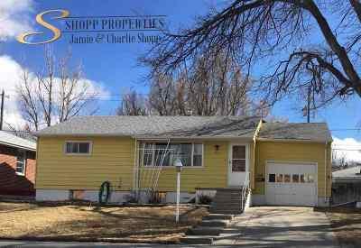 Casper Single Family Home For Sale: 2121 Hyview