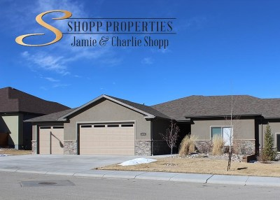 Casper Single Family Home For Sale: 1620 Pinyon Parkway