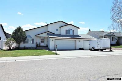 Rock Springs Single Family Home For Sale: 207 Wild Rose