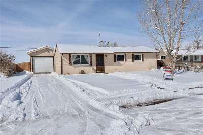Casper WY Single Family Home For Sale: $164,900