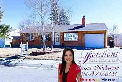 Casper WY Single Family Home For Sale: $217,000