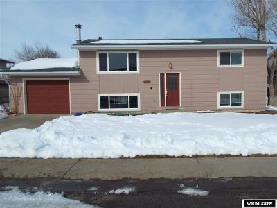 Casper WY Single Family Home For Sale: $204,900